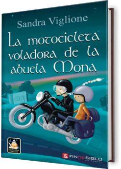 MOTOCICLETA VOLADORA DE LA ABUELA MONA