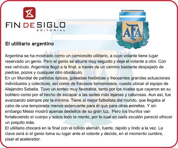 El utilitario Argentino