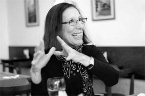 Amparo Menéndez. Foto: Pablo Vignali